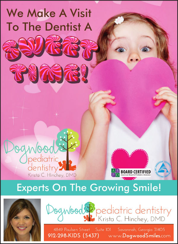 Valentine's Giveaway Dogwood Pediatric Dentistry Savannah dentists
