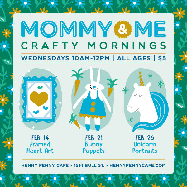 Mommy Me Crafty Mornings Savannah Henny Penny