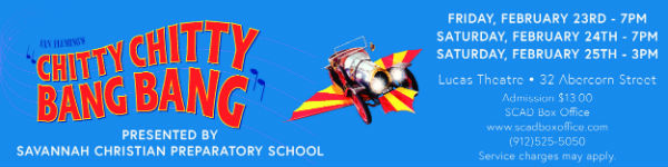 Chitty Chitty Bang Bang Savannah Christian Lucas Theatre