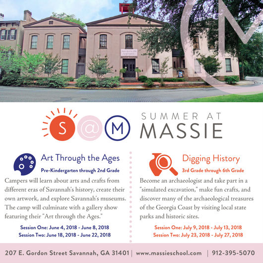 Savannah Summer Camps Massie Heritage Savannah