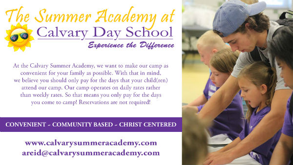 Savannah Summer Camps 2018 Calvary Day School Summer Academy