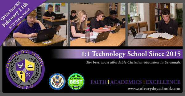 Tech Open House Calvary Day School Savannah 2018