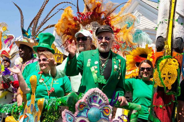 Tybee Irish Heritage Parade Mardi Gras Mermaid Festival