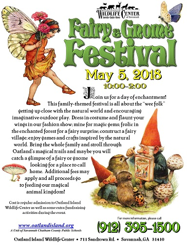 Oatland Island Wildlife Center Fairy Gnome Festival 2018 Savannah