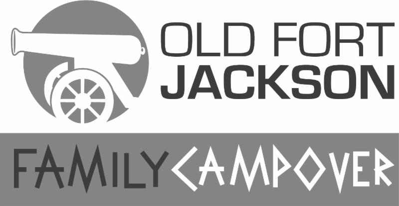 Family Campout Campover Old Fort Jackson Savannah