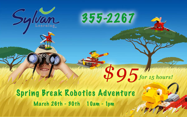 Sylvan Robotics Spring Break 2018 Savannah Spring Break Camps