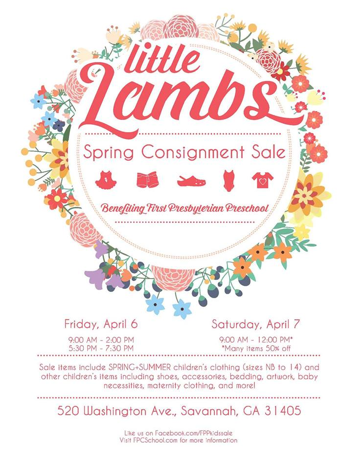 Little Lambs consignment sale Savannah Spring 2018