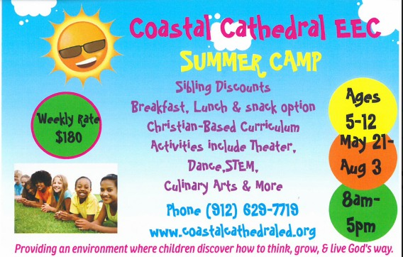 Coastal Cathedral Summer Camps Savannah preschool