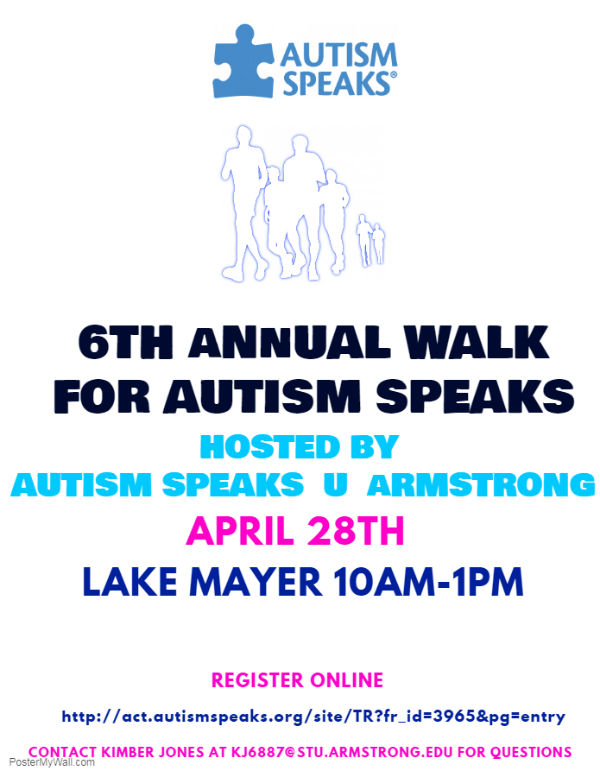 Savannah Autism Walk 2018 Autism Speaks Lake Mayer