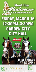 Clydesdales Garden City Savannah St. Patrick's Day 2018