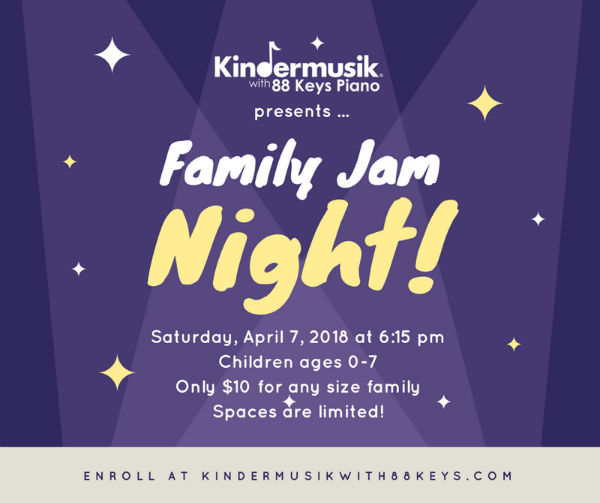 Family Jam Night Savannah Kindermusik Music