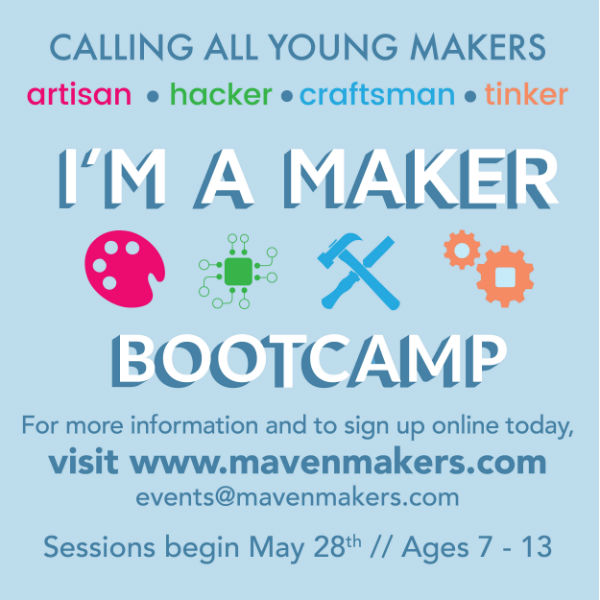 Maven Makers Savannah Summer Camp Bootcamp 2018