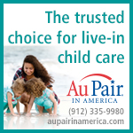 Au Pair nanny live-in child care Savannah Hilton Head