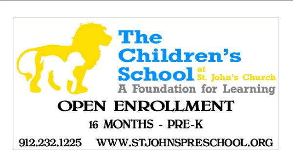Savannah preschools pre-K St. John's