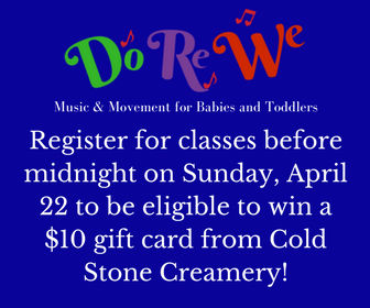 Do Re We music classes toddlers Savannah babies
