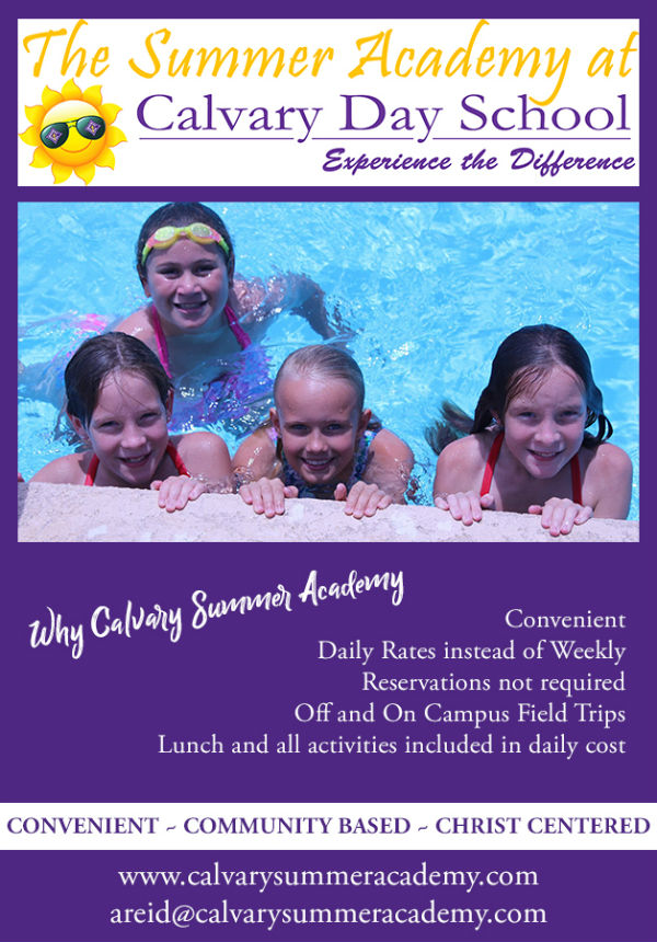 Calvary Day School Savannah Summer Camps 2018