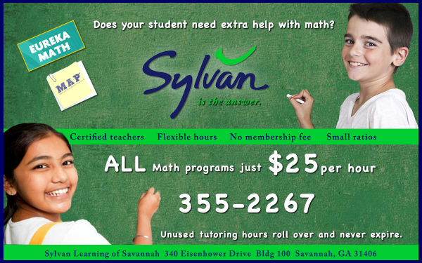 Sylvan Math Tutoring Discount Savannah
