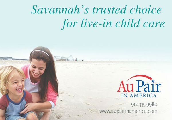 Au Pair live-in nanny childcare Savannah Hilton Head