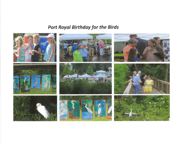 Bird Birthday Port Royal SC Beaufort 2018