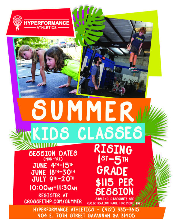 Crossfit Summer Kids Classes Savannah
