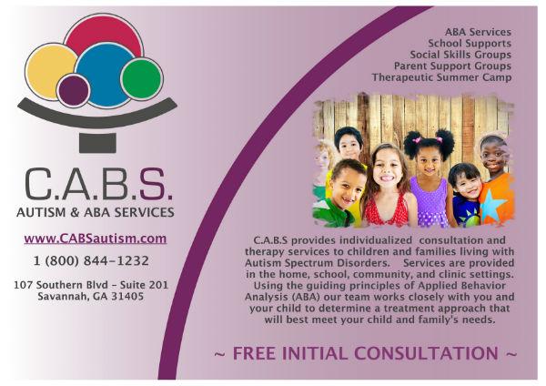 Autism services Savannah CABS Applied Behavior