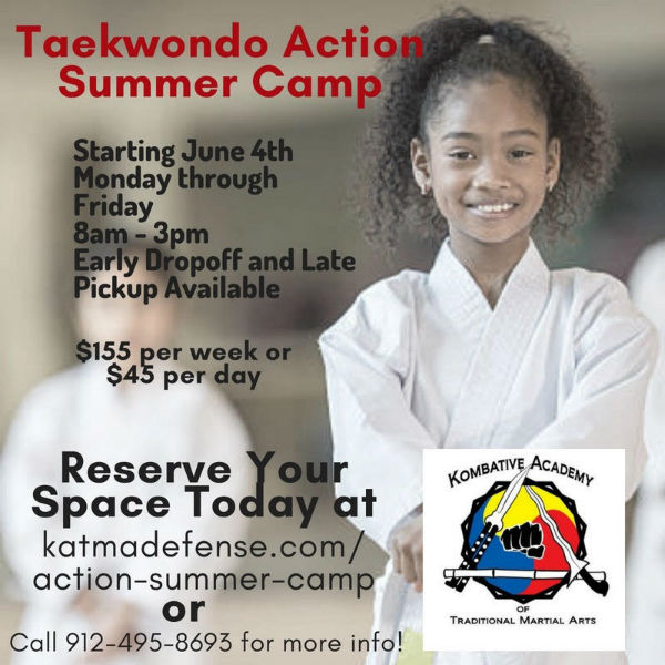 Taekwondo Summer Camp Savannah 2018