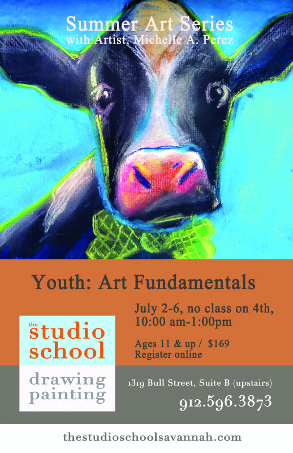 Youth art kids summer camp The Studio School