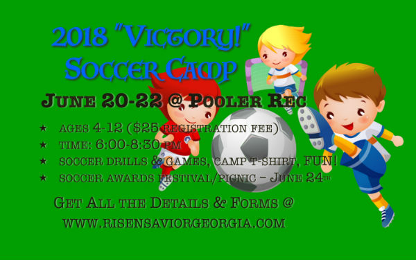 Pooler Soccer Camp
