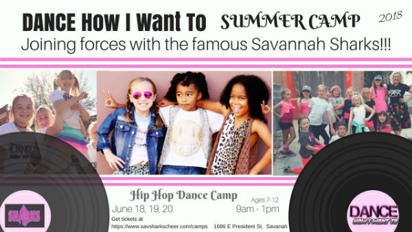 Savannah Sharks Camp Hip Hop Dance Camp