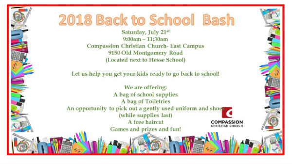 free back to school bash