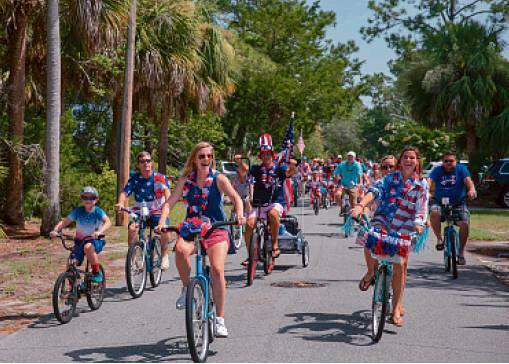 Tybee 4th of July Bike Parade 2018