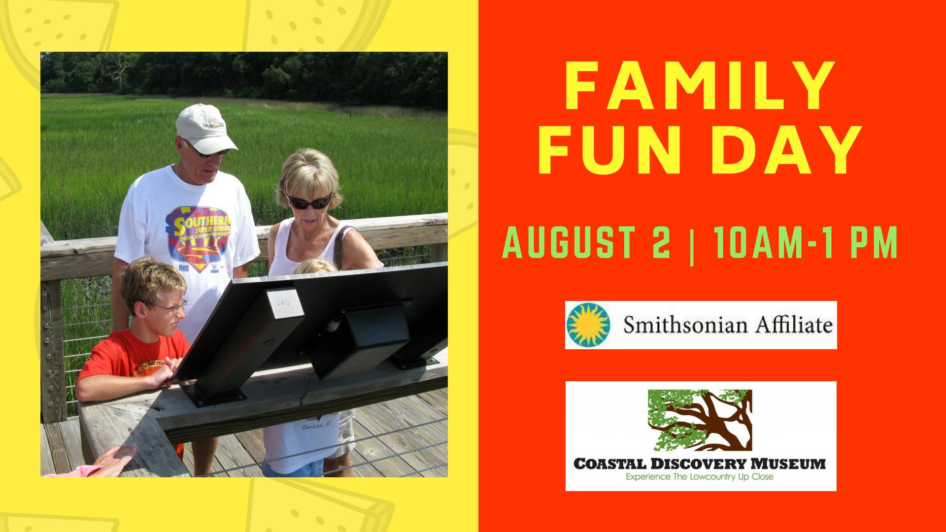 Free Family Fun Day Coastal Discovery Museum Hilton Head