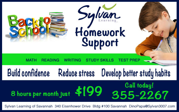 Sylvan Homework Support Savannah tutoring