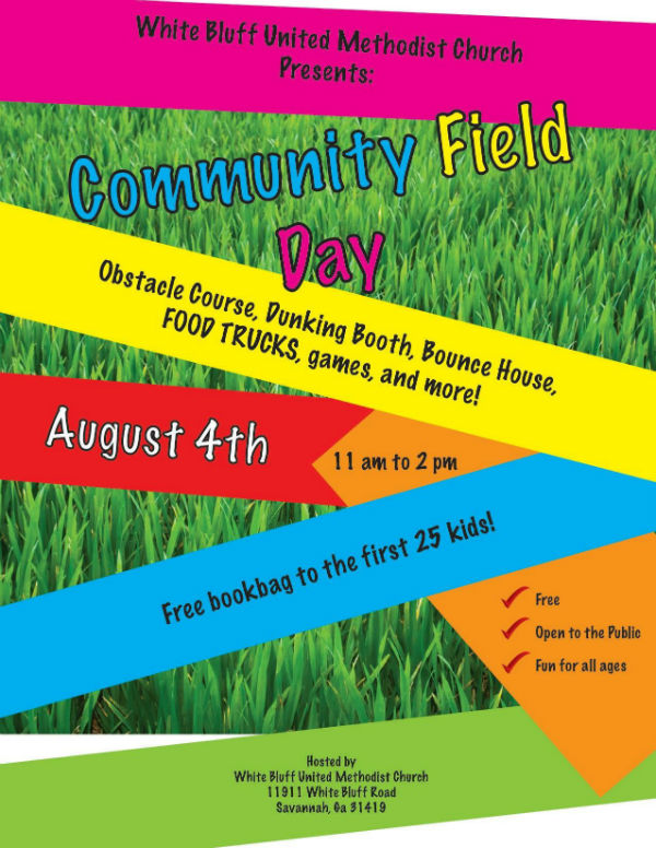 Free Field Day Savannah