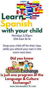 Spanish lessons classes Savannah