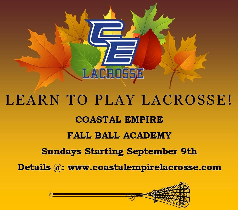 Lacrosse Savannah Fall 2018 Coastal Empire Lowcountry