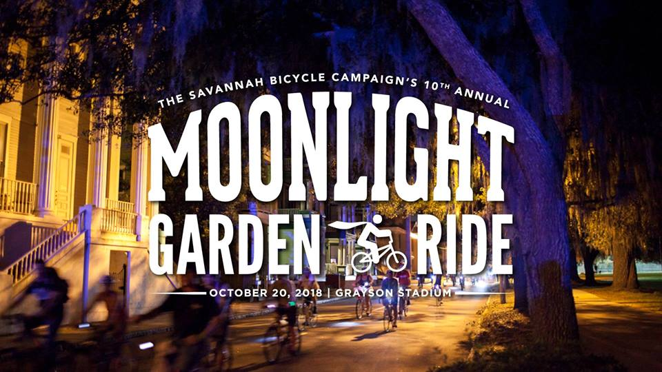 Moonlight Garden Ride Savannah 10th Annual 2018