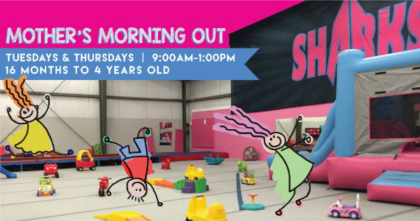 Savannah Sharks gym Mother's Morning out Child care