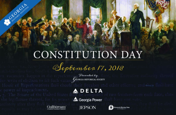 Constitution Day Savannah Georgia History