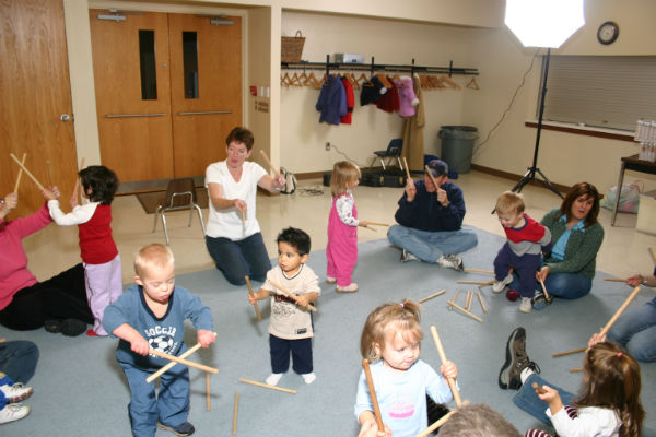 music kids Savannah classes toddlers preschoolers