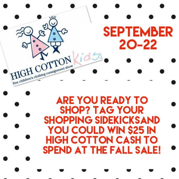High Cotton Kids Savannah consignment sales consign 2018
