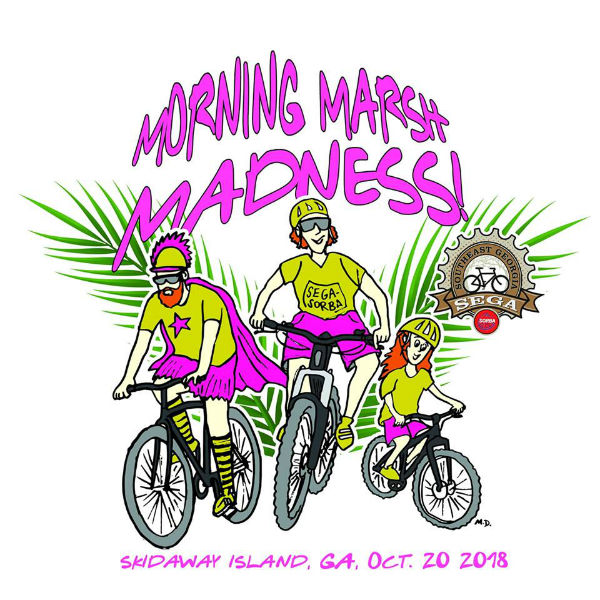 Savannah Mountain Biking SEGA-SORBA Morning Marsh Madness