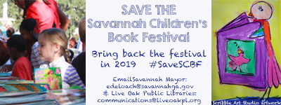 Savannah Children's Book Festival 2018