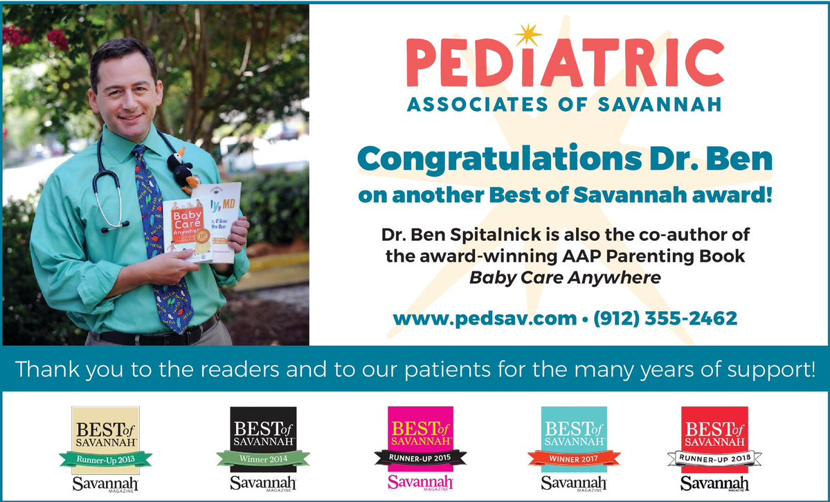 Savannah pediatricians Pediatric Associates Ben Spitalnik