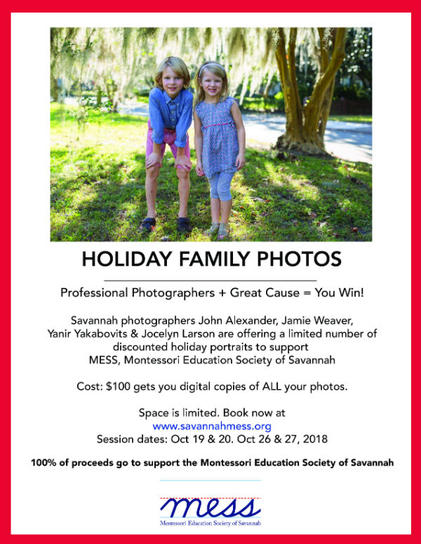 Holiday Photos 2018 Savannah photographers