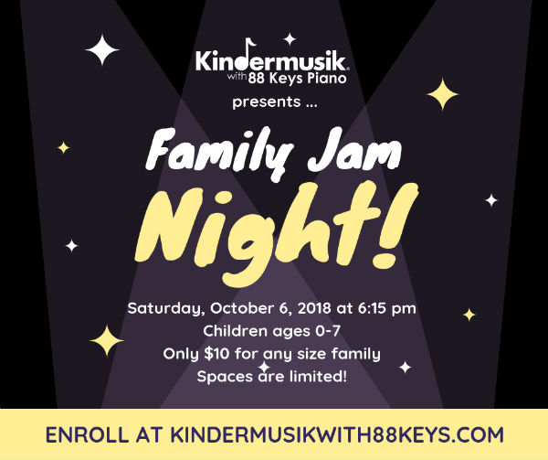 Kindermusik Savannah Family Jam Night