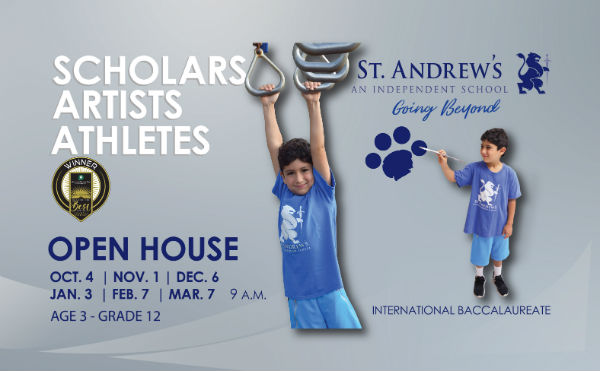 Savannah schools St. Andrew's School Wilmington Island
