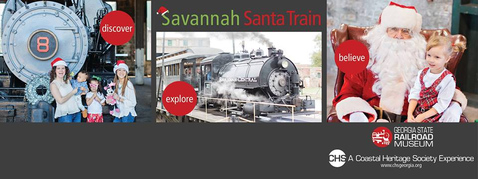 Savannah Santa Train 2018 Georgia State Railroad Museum