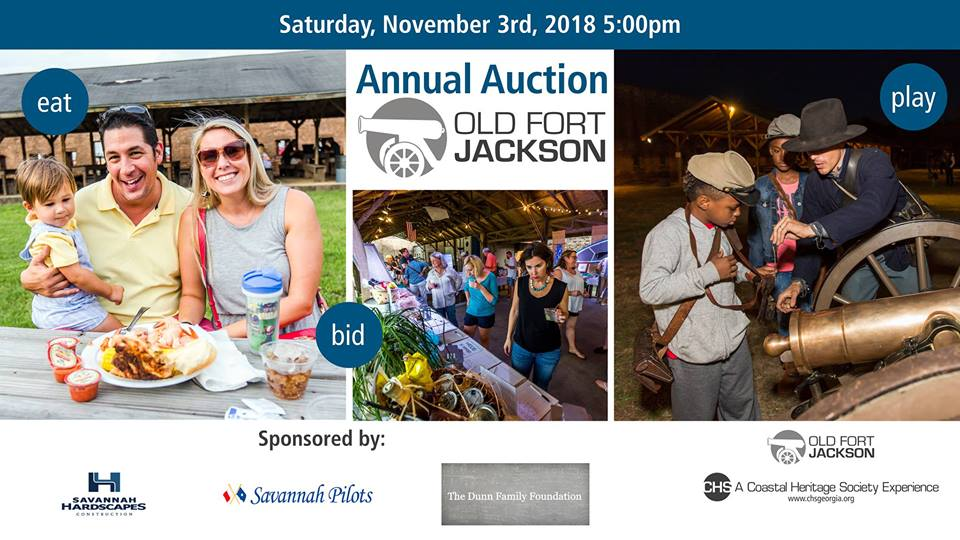 Old Fort Jackson Savannah Annual Auction 2018