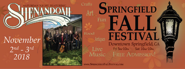 Spring Fall Festival Savannah 2018